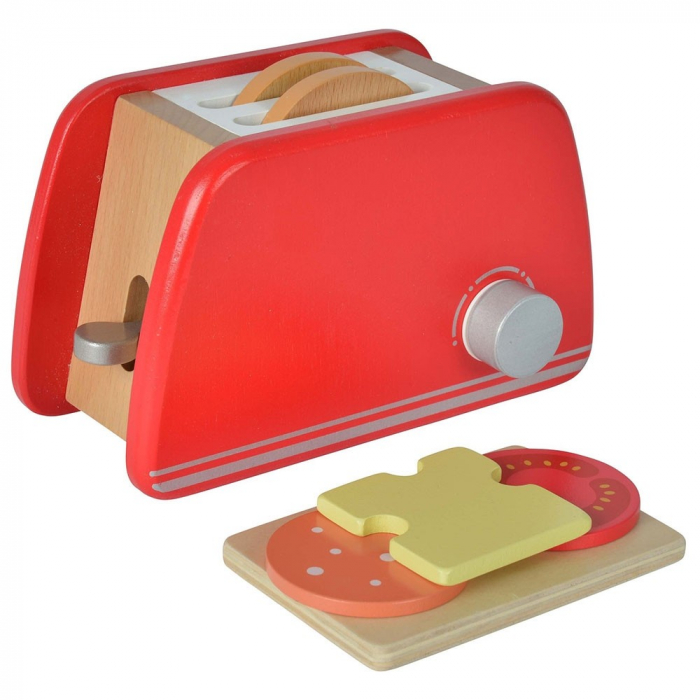 Prăjitor de pâine din lemn cu accesorii pentru mic dejun, Eichhorn [2]
