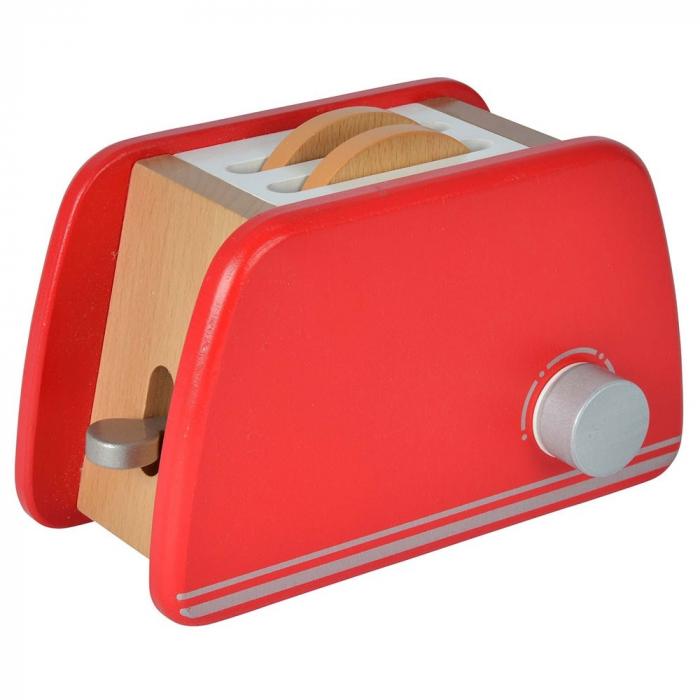 Prăjitor de pâine din lemn cu accesorii pentru mic dejun, Eichhorn [3]