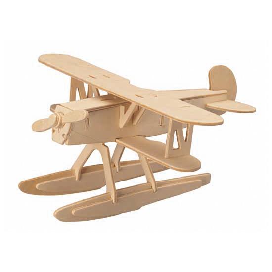Puzzle din lemn 3D Avion Heinkel HE 51 [0]