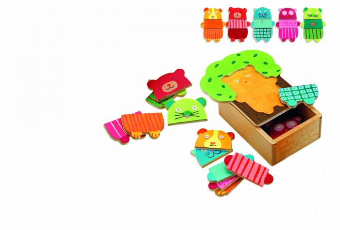 Puzzle lemn Djeco Copacelul vesel [1]
