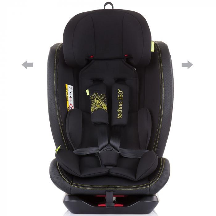 Scaun auto Chipolino Techno 0-36 kg carbon cu sistem Isofix [2]