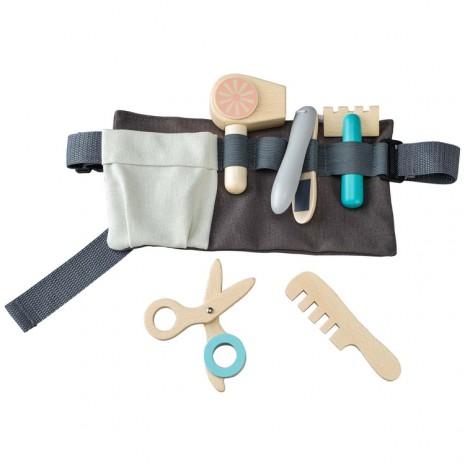 Set accesorii pentru coafura in curea de suport gri [0]
