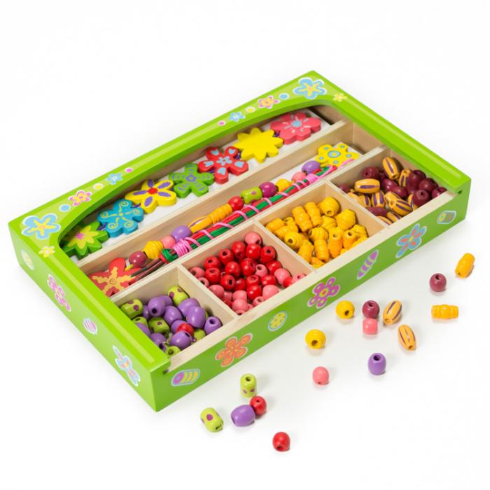 Set creativ de confectionat bijuterii din lemn in cutie [1]