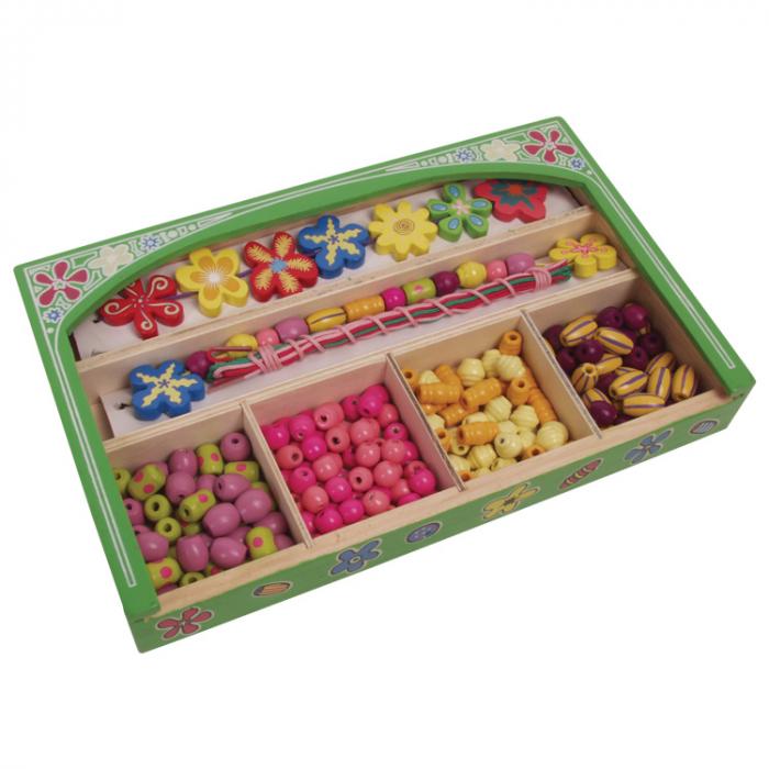 Set creativ de confectionat bijuterii din lemn in cutie [3]