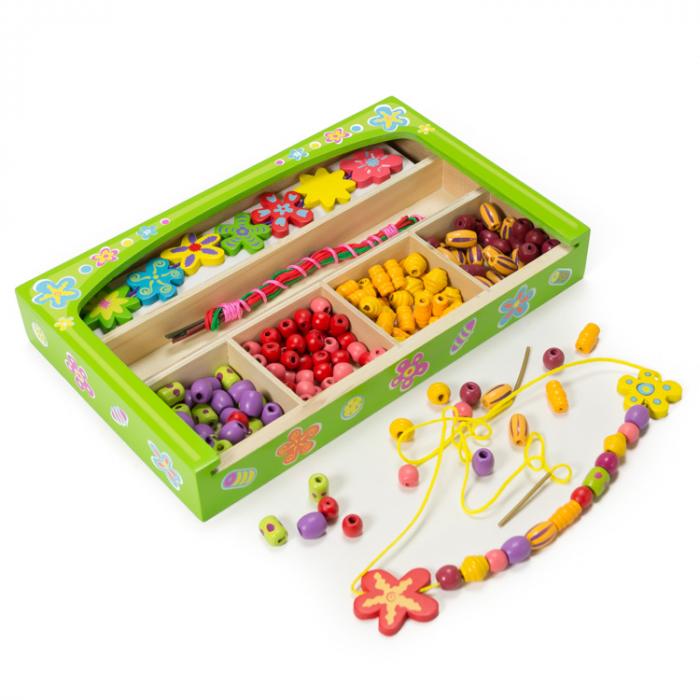Set creativ de confectionat bijuterii din lemn in cutie [2]
