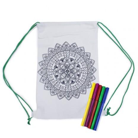 Set creativ rucsac pentru colorat - mandala [0]