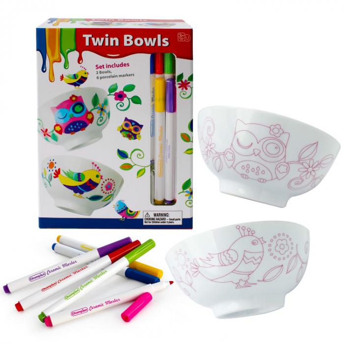Set de colorat boluri pentru mic dejun (set 2 boluri) [0]
