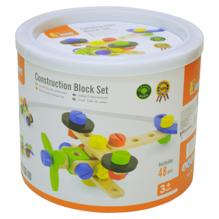 Set de construit 48 piese, Viga Toys [1]