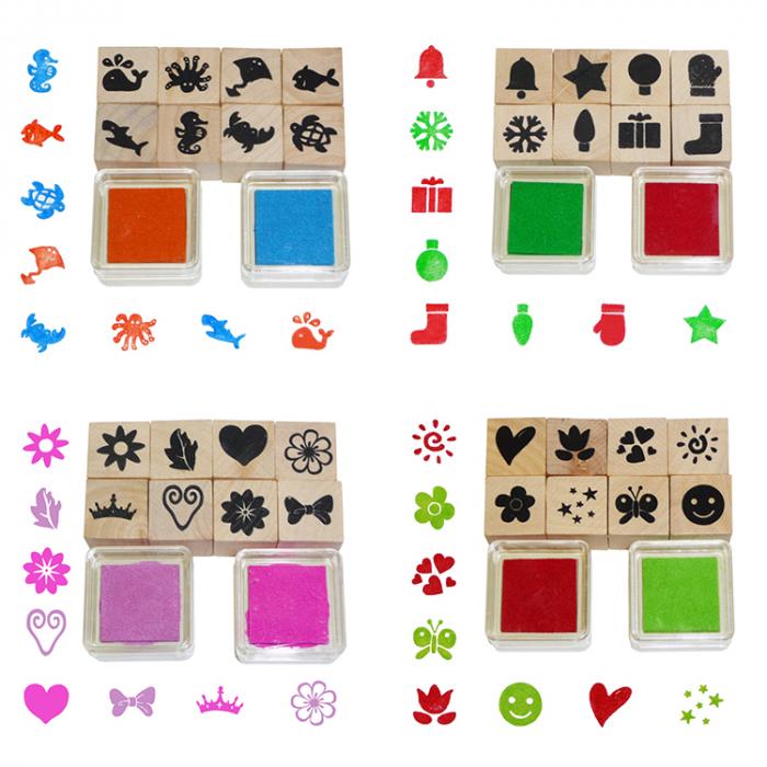 Set de stampile 32 bucati [0]