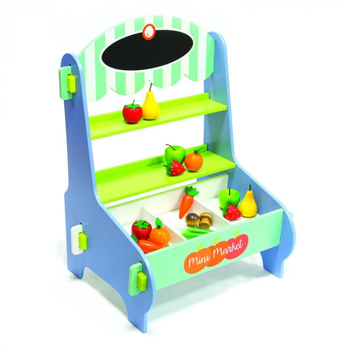 Stand pentru vanzare fructe si legume din lemn [0]