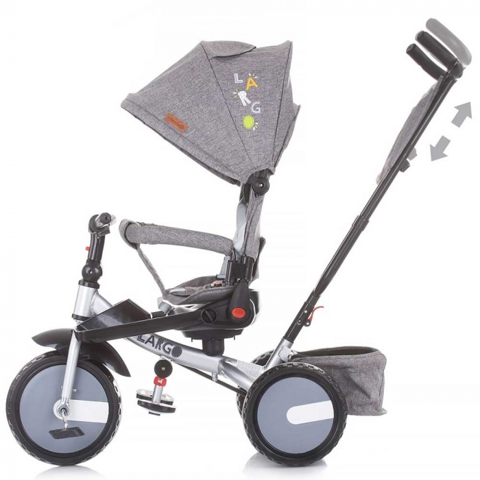 Tricicleta Chipolino Largo graphite [2]