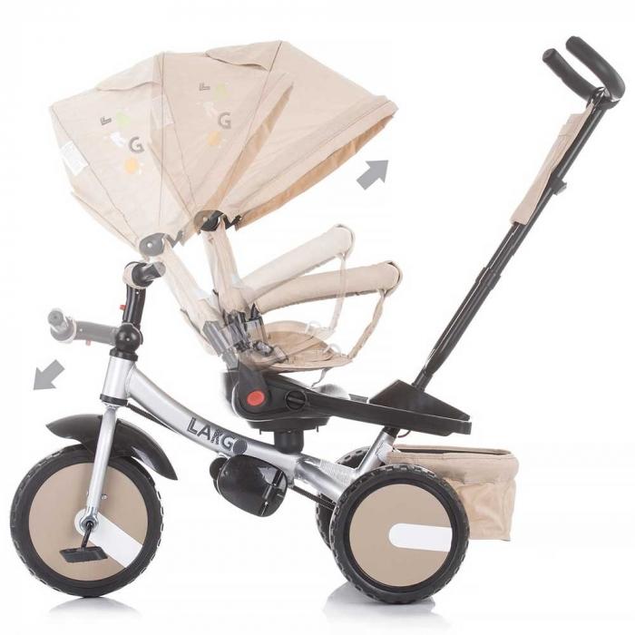 Tricicleta Chipolino Largo Mocca [5]