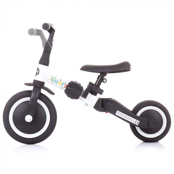 Tricicleta si Bicicleta 2 in 1 Smarty Chipolino White [3]