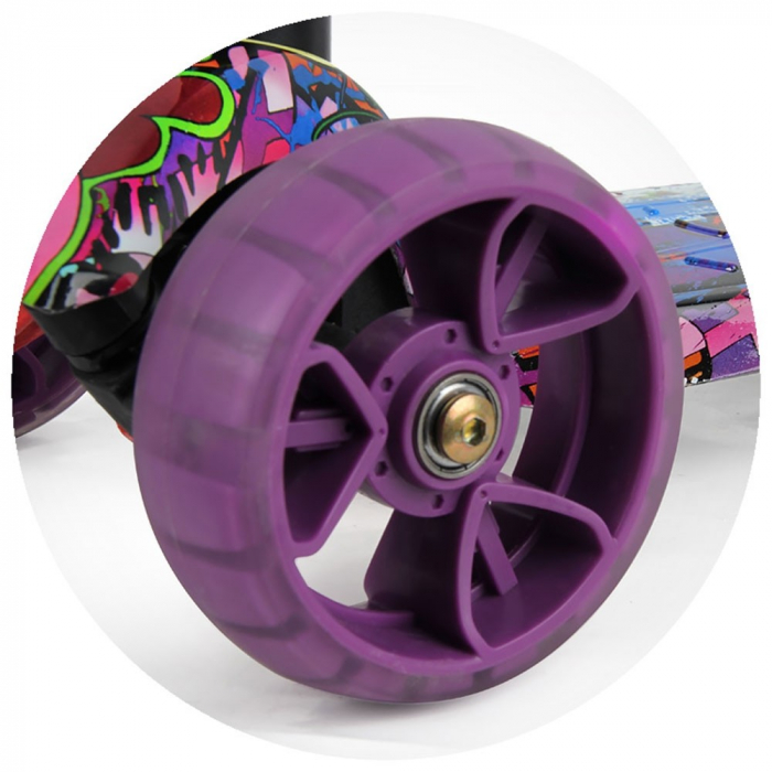 Trotineta Chipolino Croxer Evo purple grafitti [3]
