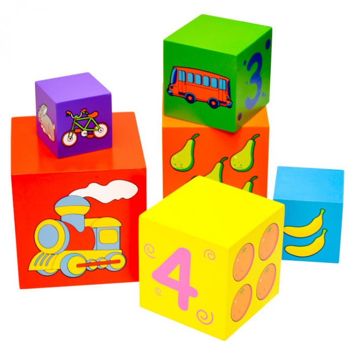 Turn de cuburi Turnul Babel, Viga Toys [1]