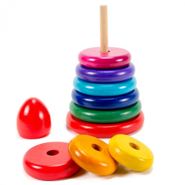 Turn Montessori colorat mediu [1]