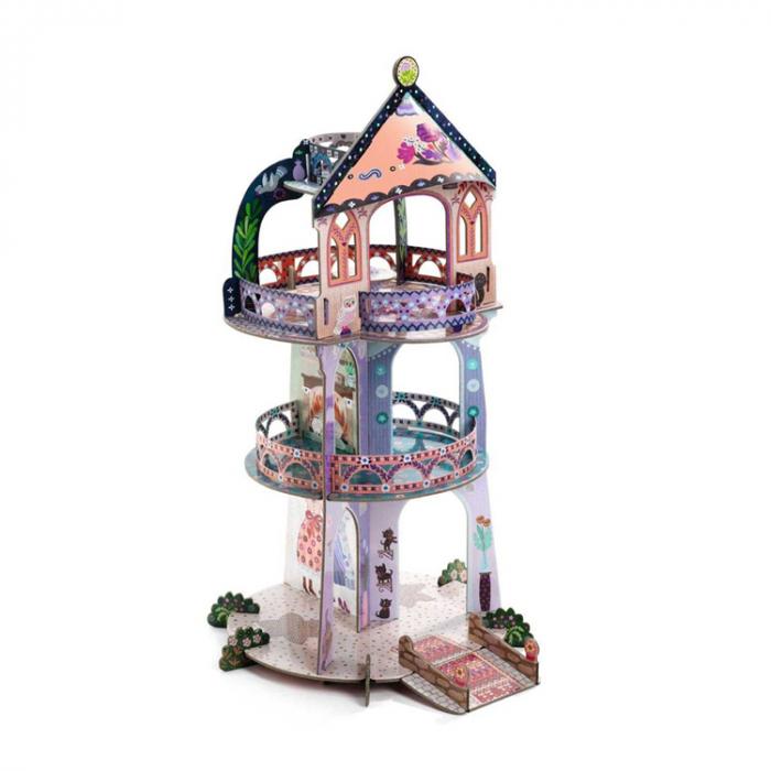 Turnul din povesti Djeco macheta 3D [0]