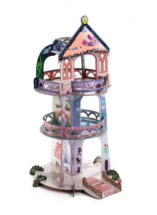 Turnul din povesti Djeco macheta 3D [1]