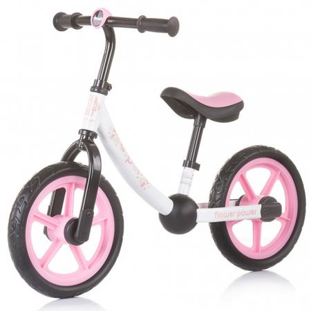Bicicleta fara pedale Chipolino Casper flower power [0]