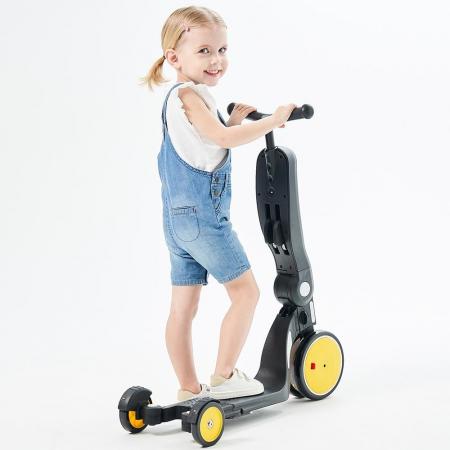 Bicicleta, tricicleta si trotineta Chipolino All Ride 4 in 1 yellow [4]