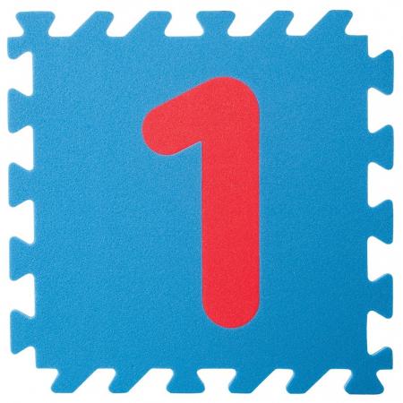 Covoras puzzle cu cifre pentru copii Pilsan Educational Polyethylene Play Mat [2]