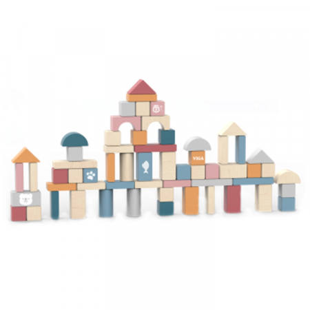 Cuburi de construit 60 de piese, Polar B [2]