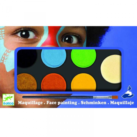 Culori make-up non alergice Djeco, natur [0]