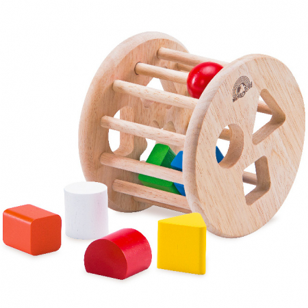 Jucarie de sortat forme din lemn [0]