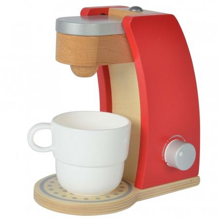 Jucarie espressor din lemn cu accesorii Eichhorn coffe machine [2]