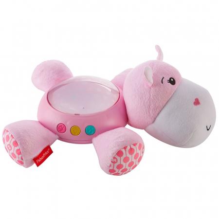 Lampa de veghe plus Newborn Hipopotam roz Fisher Price [1]