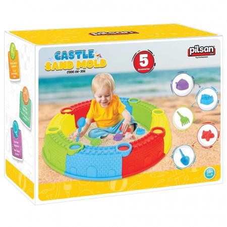 Nisipar pentru copii Pilsan Sand Castle Mould [1]