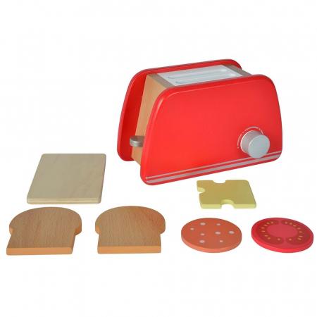 Prăjitor de pâine din lemn cu accesorii pentru mic dejun, Eichhorn [1]