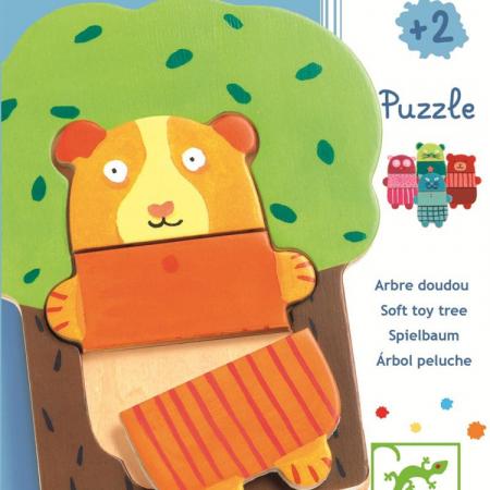 Puzzle lemn Djeco Copacelul vesel [0]