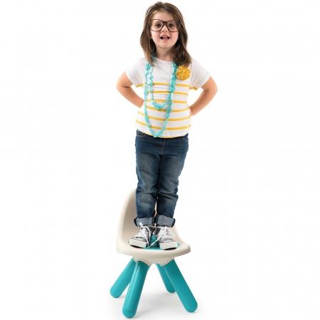 Scaunel cu spatar pentru copii Smoby blue [1]
