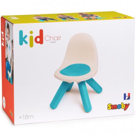 Scaunel cu spatar pentru copii Smoby blue [4]