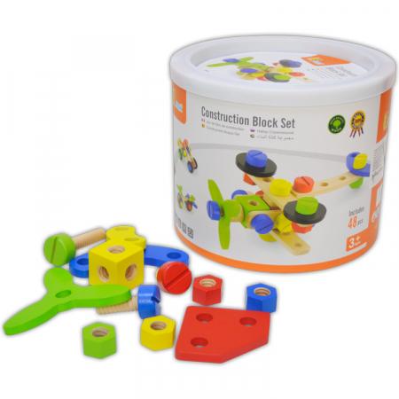 Set de construit 48 piese, Viga Toys [0]