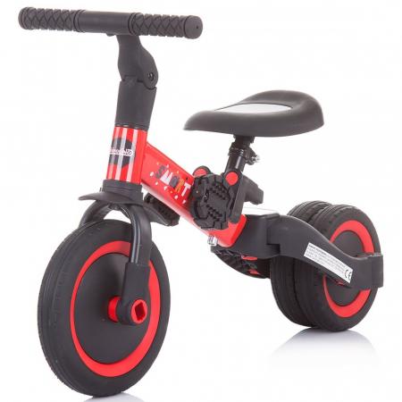 Tricicleta si Bicicleta 2 in 1 Smarty Chipolino Red [1]