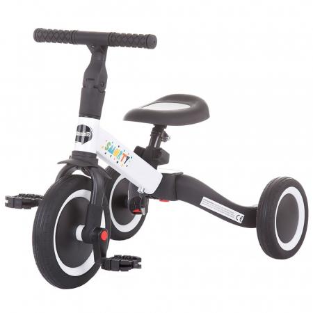 Tricicleta si Bicicleta 2 in 1 Smarty Chipolino White [0]