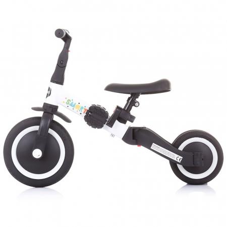 Tricicleta si Bicicleta 2 in 1 Smarty Chipolino White [2]