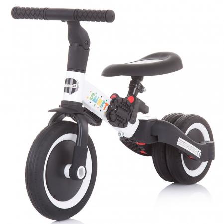 Tricicleta si Bicicleta 2 in 1 Smarty Chipolino White [1]