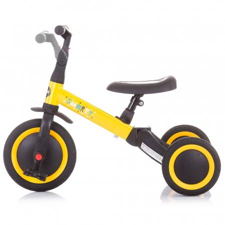 Tricicleta si Bicicleta 2 in 1 Smarty Chipolino Yellow [5]