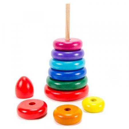 Turn Montessori colorat mare [1]