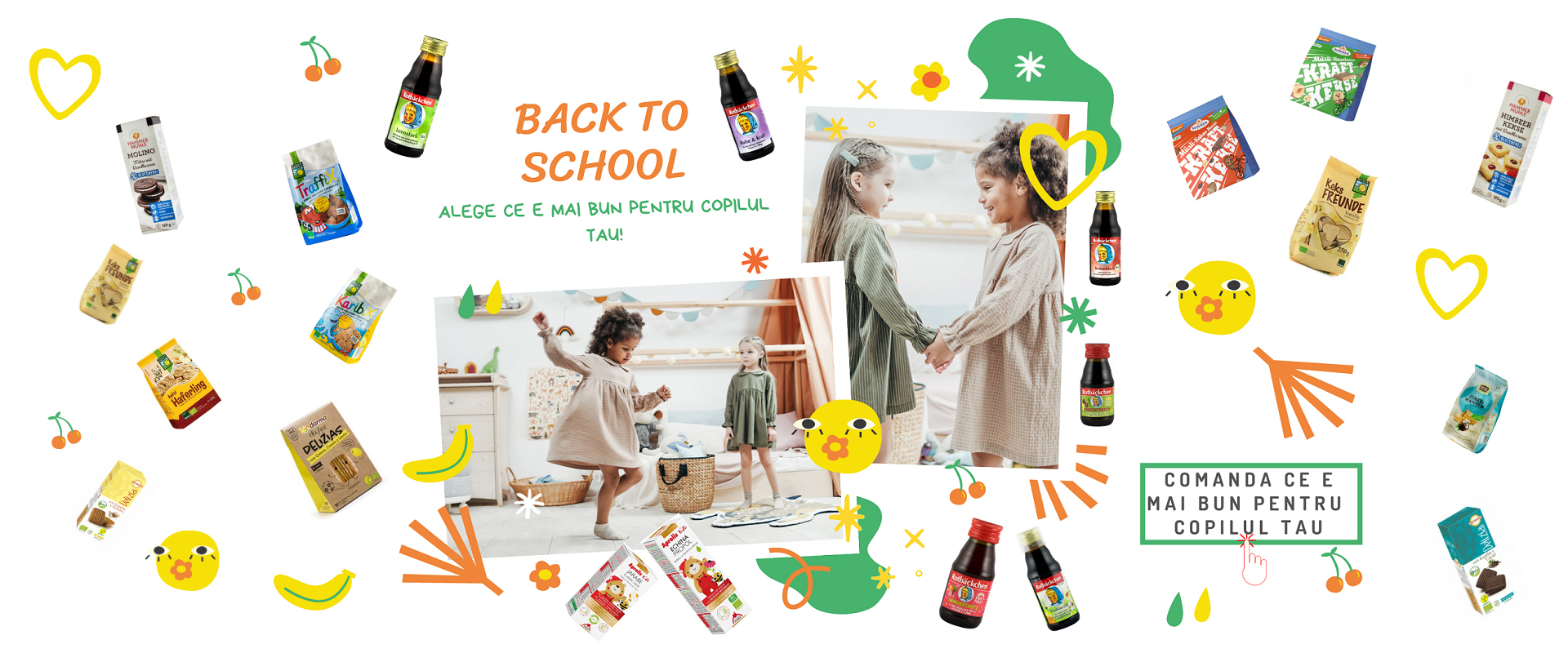 Back To School - Alege ce e mai bun pentru copilul tau!