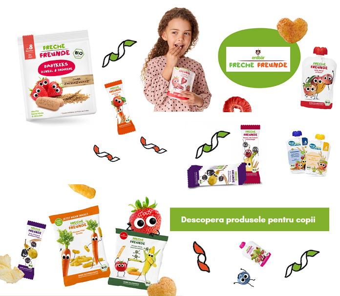 Descopera produsele pentru copii de la Erdbar