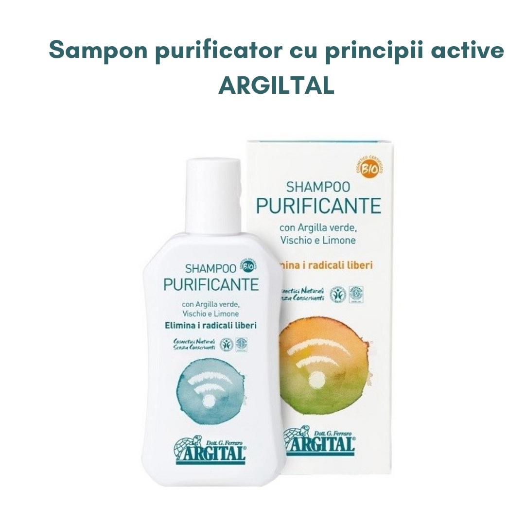 Sampon purificator cu principii active, ARGITAL
