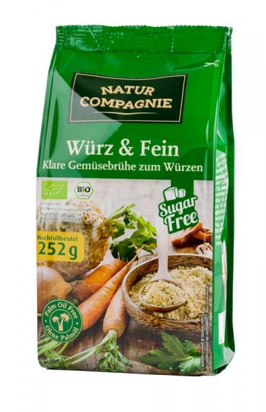 Amestec bio - baza pentru mancaruri si supe, 252 g NATUR COMPAGNIE [0]