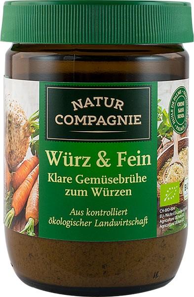 Amestec bio de baza pentru mancaruri si supe, 252 g NATUR COMPAGNIE [0]
