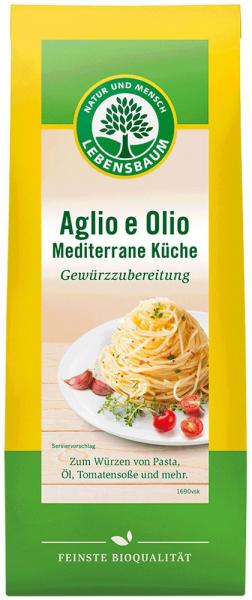 Amestec Bio De Condimente Aglio E Olio - Bucataria Mediteraneana, 40G Lebensbaum [0]