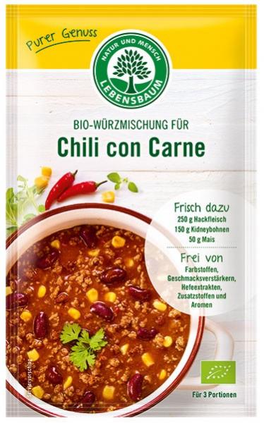 Amestec BIO de condimente pentru Chili con Carne, 30 g LEBENSBAUM [0]