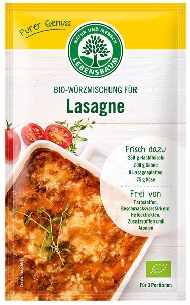 amestec BIO de condimente pentru Lasagna, 45 g LEBENSBAUM [0]